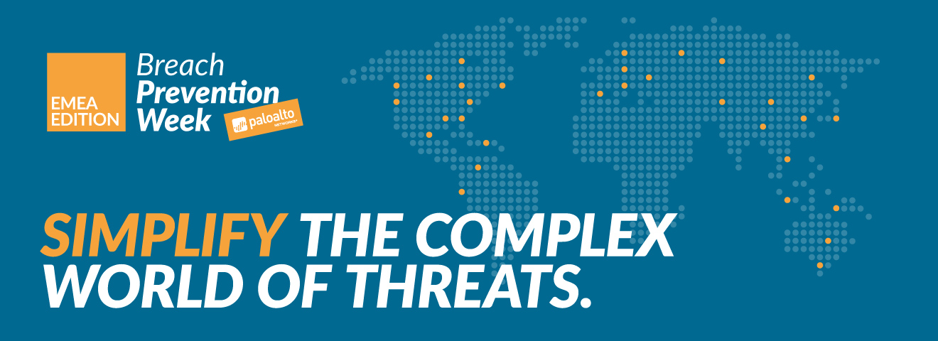 PALO ALTO NETWORKS: Breach Prevention Week