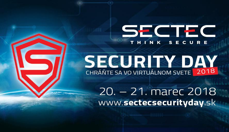 Tlačová správa - SecTec Security Day 2018