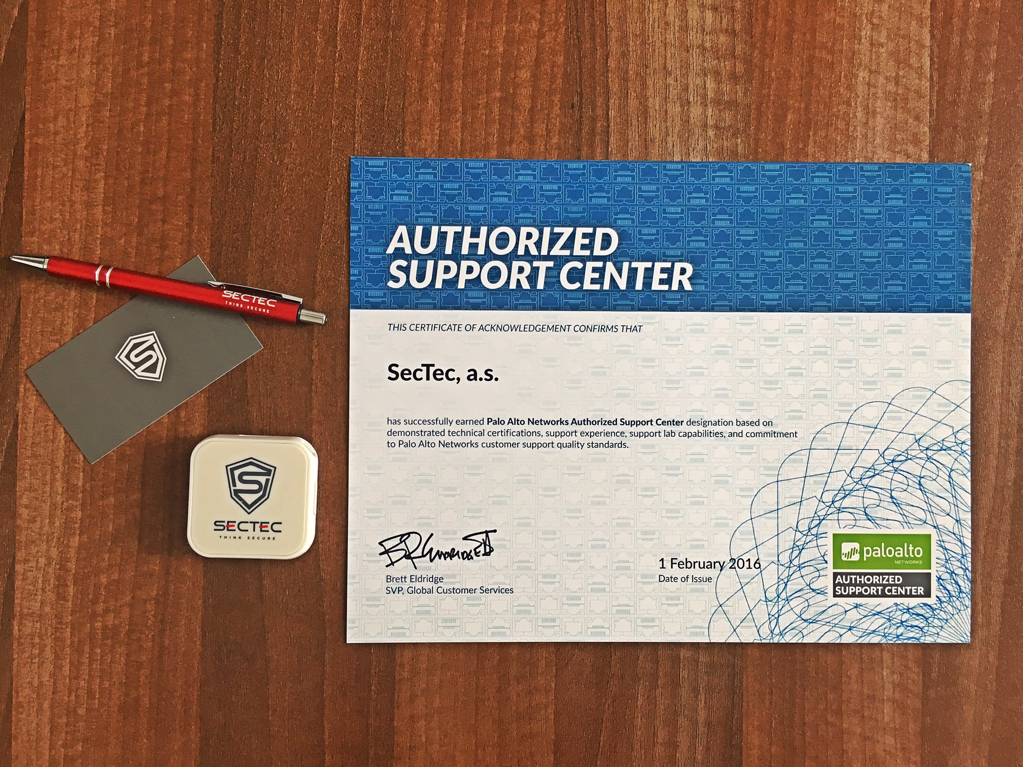 SecTec - Palo Alto Networks Authorized Support Center