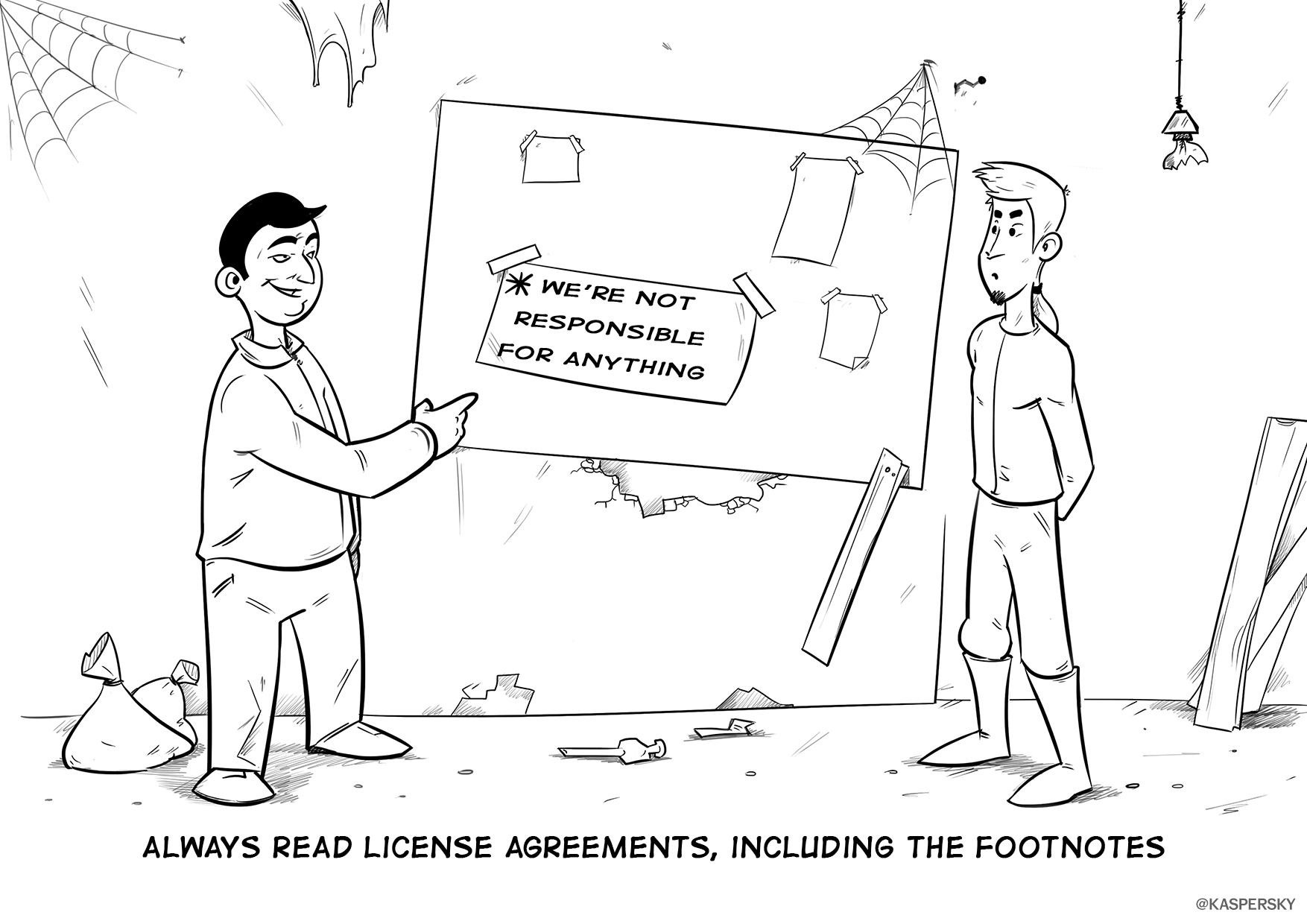 Pri inštalácii nových aplikácií nečítame licenčné podmienky