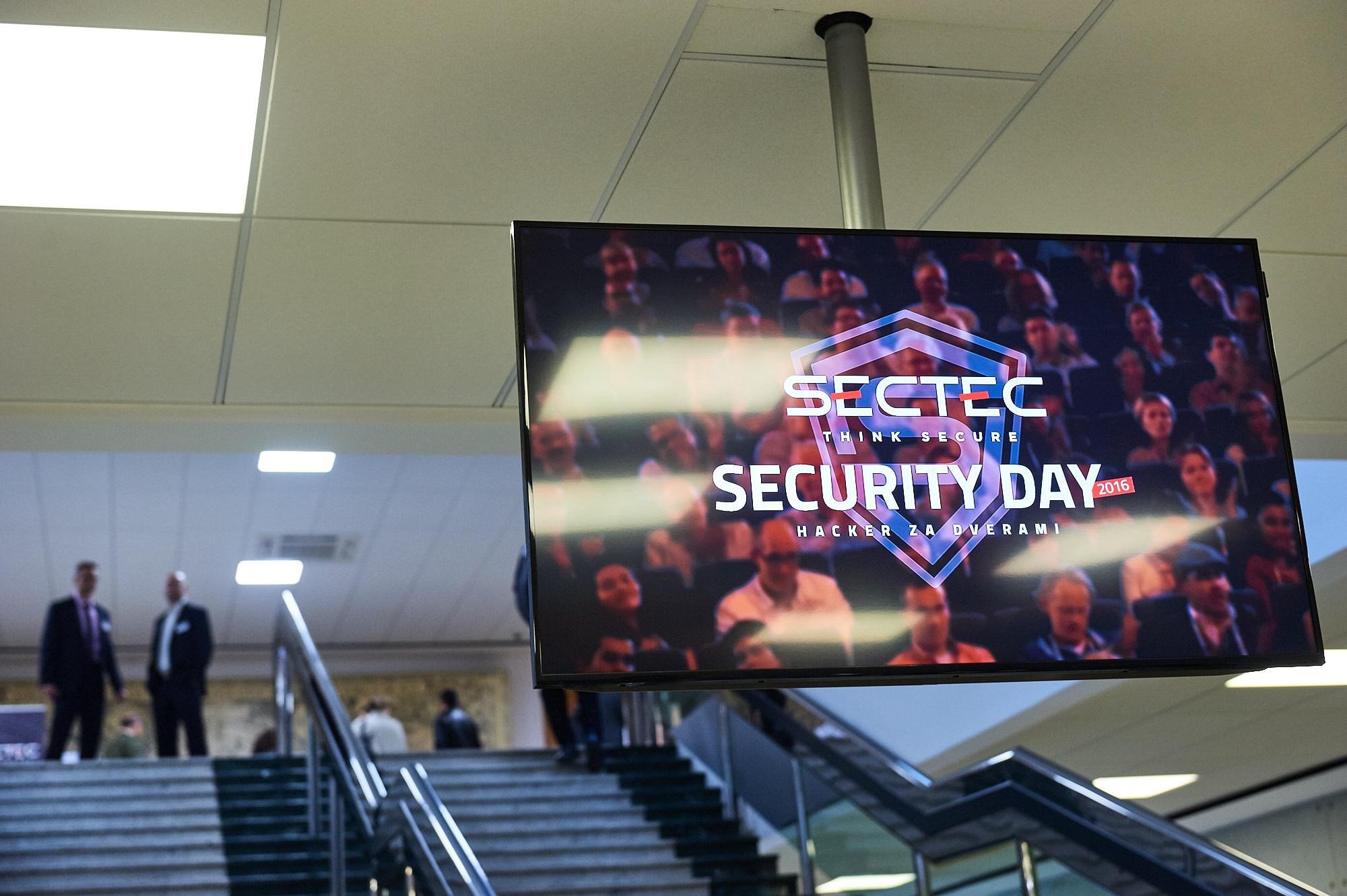 SecTec Security Day 2016 – Hacker za dverami